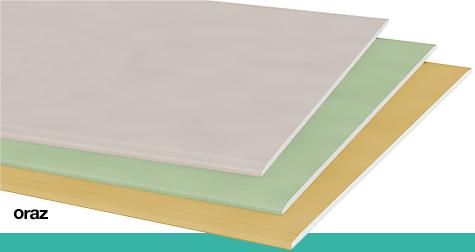 impregnowane płyty gipsowo kartonowe