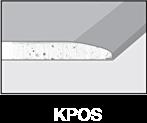 Krawędzie płyt gipsowo-kartonowych - KPOS