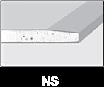 Krawędzie płyt gipsowo-kartonowych - NS