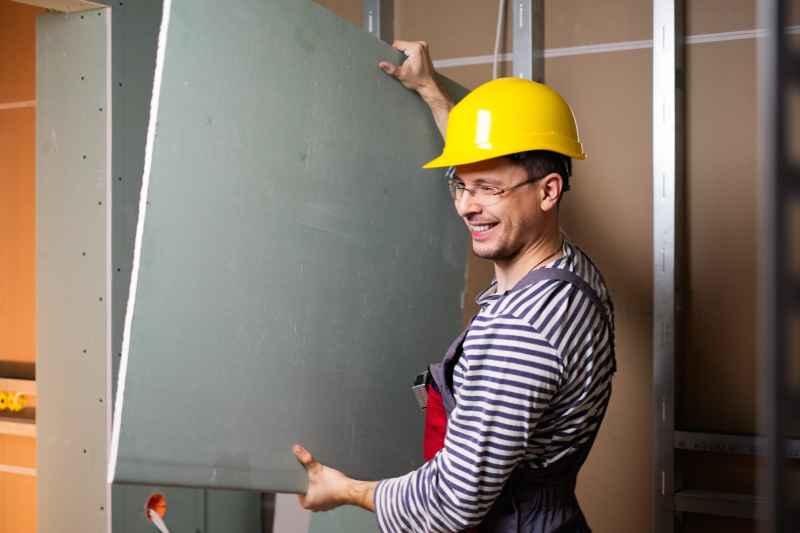 Stawianie ściany w suchej zabudowie to nic trudnego